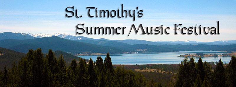 St. Timothy's Summer Music Festival